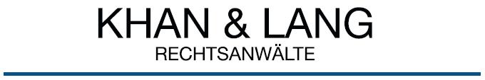 Khan&Lang Rechtsanwälte – Kanzlei für IT Recht, Ausländerrecht, Wettbewerbsrecht, Abmahnung, Verwaltungsrecht